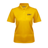 Ladies Gold Dry Mesh Polo-UAPB Word Mark