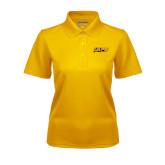 Ladies Gold Dry Mesh Polo-UAPB Word Mark