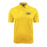 Gold Dry Mesh Polo-UAPB Golden Lions Stacked