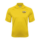 Gold Dri Mesh Pro Polo-UAPB Golden Lions Stacked