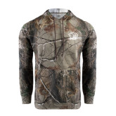 Realtree Camo Fleece Hood-Golden Lion Head