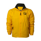 Gold Survivor Jacket-Golden Lion Head