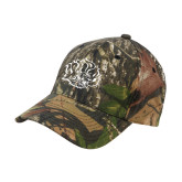 Mossy Oak Camo Structured Cap-Golden Lion Head