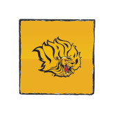 Photo Slate-Golden Lion Head