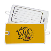 Luggage Tag-Golden Lion Head