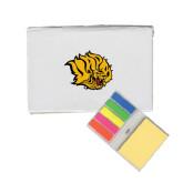 Micro Sticky Book-Golden Lion Head