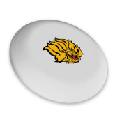 Ultimate White Sport Disc-Golden Lion Head