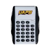 White Flip Cover Calculator-UAPB Word Mark