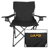 Deluxe Black Captains Chair-UAPB Word Mark