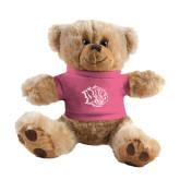 Plush Big Paw 8 1/2 inch Brown Bear w/Pink Shirt-Golden Lion Head