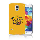Galaxy S5 Phone Case-Golden Lion Head