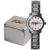 Mens Stainless Steel Fashion Watch-UAPB Word Mark
