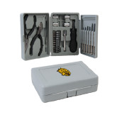 Compact 26 Piece Deluxe Tool Kit-Golden Lion Head
