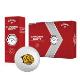 Callaway Chrome Soft Golf Balls 12/pkg-Golden Lion Head