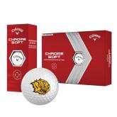 Callaway Chrome Soft Golf Balls 12/pkg-Golden Lion Head
