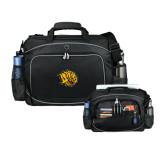 Hive Checkpoint Friendly Black Compu Case-Golden Lion Head