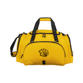 Challenger Team Gold Sport Bag-Golden Lion Head