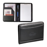 Millenium Black Leather Jr. Writing Pad-Physical Therapy Debossed