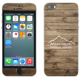 iPhone 5/5s Skin-Wood Background Graphic