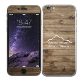 iPhone 6 Skin-Wood Background Graphic