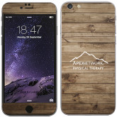 iPhone 6 Plus Skin-Wood Background Graphic