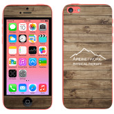 iPhone 5c Skin-Wood Background Graphic