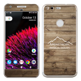 Google Pixel Skin-Wood Background Graphic