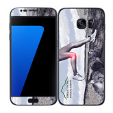 Samsung Galaxy S7 Edge Skin-Knee Pain Graphic