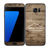 Samsung Galaxy S7 Edge Skin-Wood Background Graphic