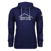 Adidas Climawarm Navy Team Issue Hoodie-Fitness Center