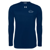Under Armour Navy Long Sleeve Tech Tee-Physical Therapy