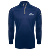 Under Armour Navy Tech 1/4 Zip Performance Shirt-Physical Therapy