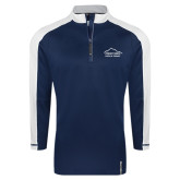 Adidas Modern Navy Varsity 1/4 Zip-Physical Therapy