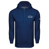 Under Armour Navy Performance Sweats Team Hoodie-Physical Therapy
