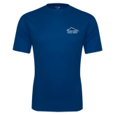 Performance Navy Tee-Physical Therapy