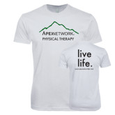 Next Level SoftStyle White T Shirt-Physical Therapy