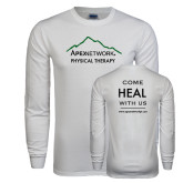 White Long Sleeve T Shirt-Physical Therapy