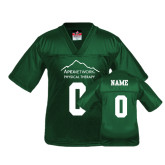 Youth Replica Dark Green Football Jersey-Personalized