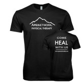 Next Level SoftStyle Black T Shirt-Physical Therapy