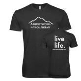 Next Level Vintage Black Tri Blend Crew-Physical Therapy