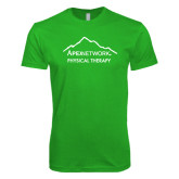 Next Level SoftStyle Kelly Green T Shirt-Physical Therapy