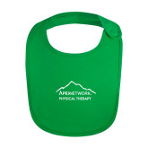 Kelly Green Baby Bib-Physical Therapy