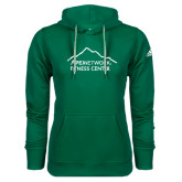Adidas Climawarm Dark Green Team Issue Hoodie-Fitness Center