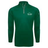 Under Armour Dark Green Tech 1/4 Zip Performance Shirt-Physical Therapy