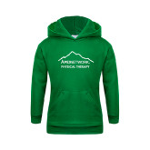 Youth Kelly Green Fleece Hoodie-Physical Therapy