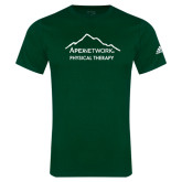 Adidas Dark Green Logo T Shirt-Physical Therapy