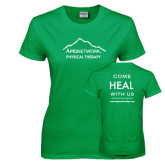 Ladies Kelly Green T Shirt-Physical Therapy