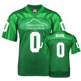 Replica Kelly Green Adult Football Jersey-Personalized