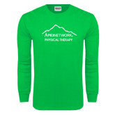 Kelly Green Long Sleeve T Shirt-Physical Therapy