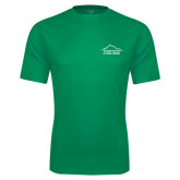 Performance Kelly Green Tee-Fitness Center